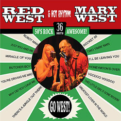 RED and MARY WEST and HOT RHYTHM - GO WEST!