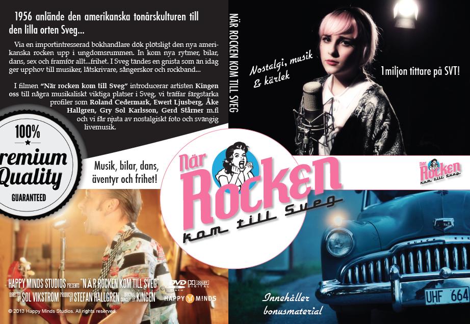 När Rocken kom till Sveg släpps på DVD